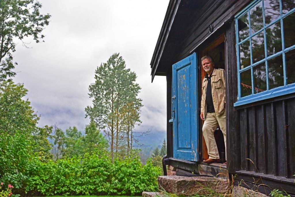 """Haakon Bull-Hansen har gitt ut boka """"Til skogs"""""""